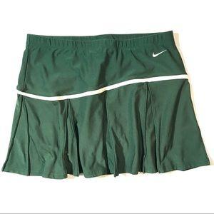 Nike DRI FIT Tennis Skort Pine Green